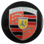 Porsche - 'Logo' Prismatic Button Badge